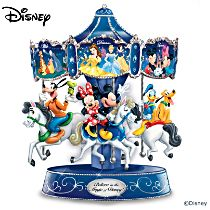 "Disney's ""Believe In The Magic"" Rotating Musical Carousel"