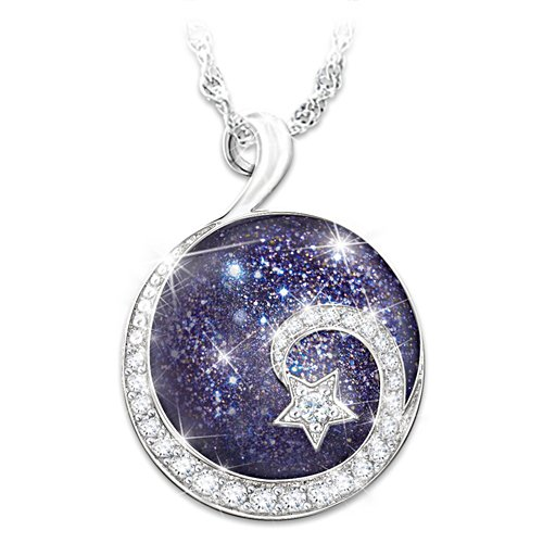 """Daughter Reach For The Stars"" Pendant Necklace"