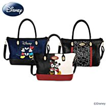 Disney Mickey Mouse and Minnie Mouse Magical Trio 3-In-1 Interchangeable Women's Handbag