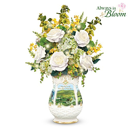 "Edmund Sullivan ""Blessings Of Ireland"" Floral Centrepiece"