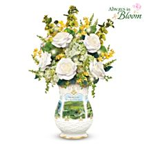 "Edmund Sullivan ""Blessings Of Ireland"" Floral Centrepiece"