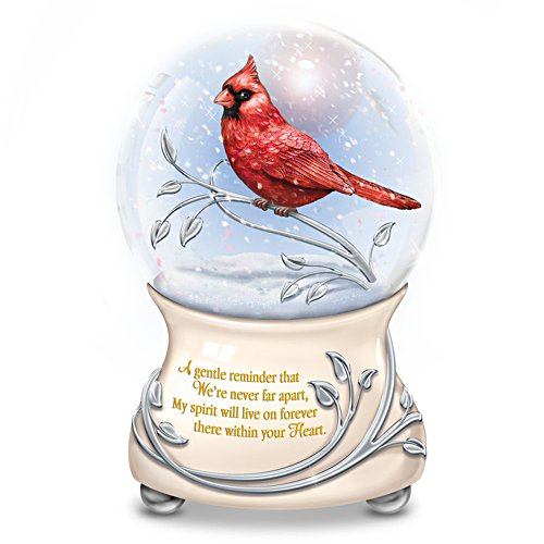 'Messenger From Heaven' Musical Snow Globe