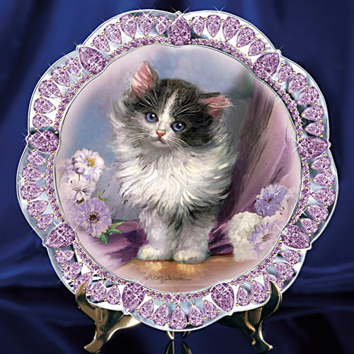 """Sophisti-Cat"" Kitten Collector Plate"