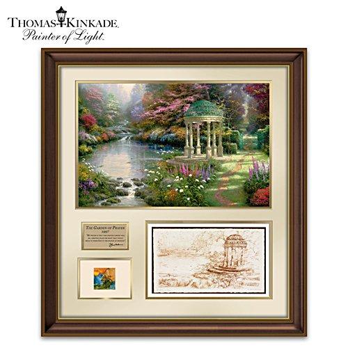 Garden Of Prayer Tribute With Thomas Kinkade's Actual Paint