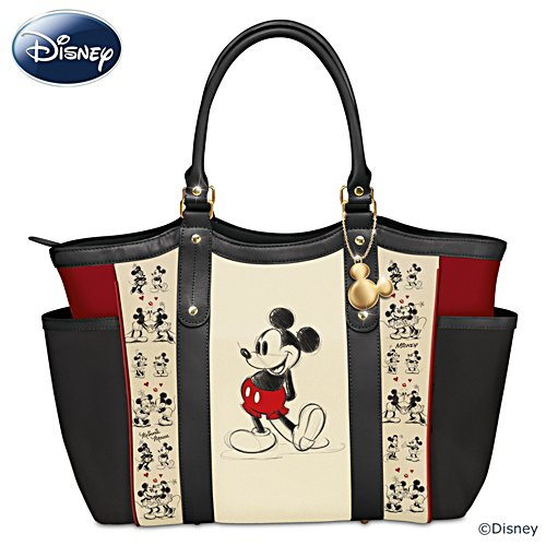 Disney Mickey Mouse And Minnie Mouse 'Love Story' Tote Bag