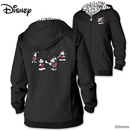 Disney Love Story Water-Resistant Lightweight Women's Jacket