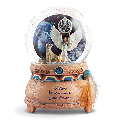 """Awakening the Spirits"" Illuminated Musical Snow Globe"