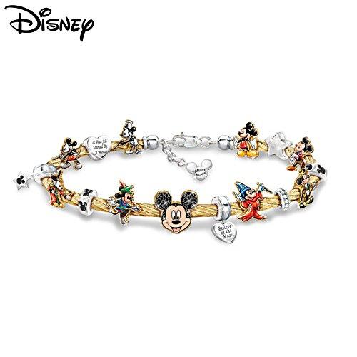 Disney 'Mickey Mouse's Greatest Moments' Ladies' Bracelet