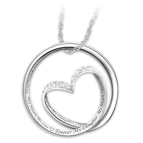 Forever In My Heart Daughter Pendant