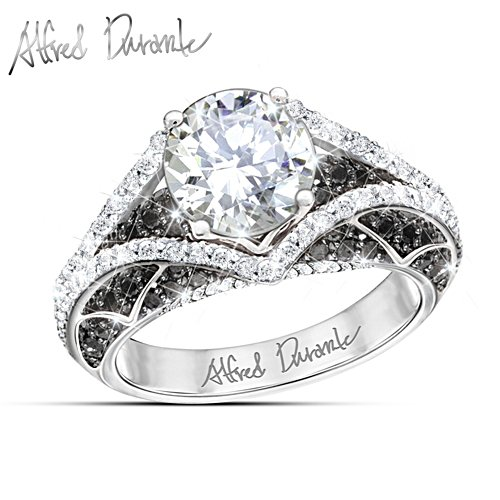 "Alfred Durante ""Park Avenue"" Topaz And Sapphire Women's Ring"