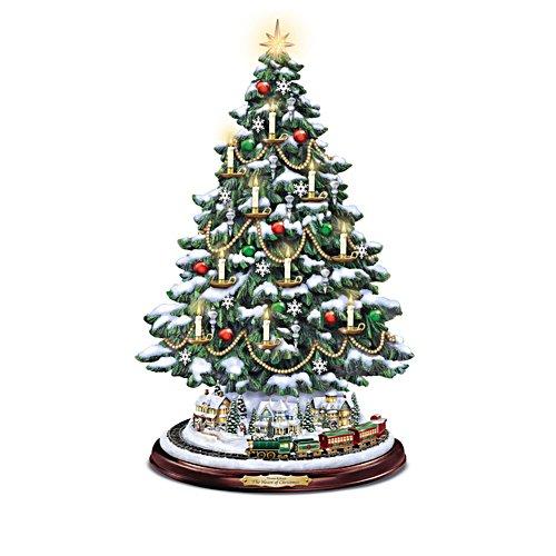 Das Herz der Weihnacht - Weihnachtsbaum von Thomas Kinkade