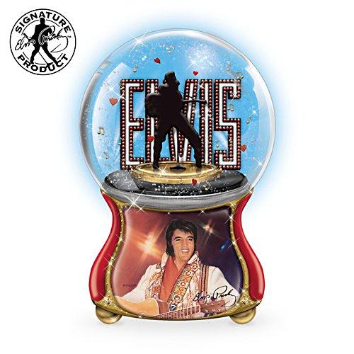 Elvis Presley 'Hound Dog' Musical Glitter Globe