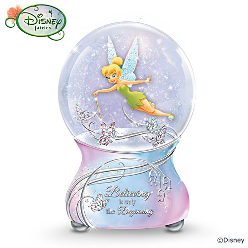 "Disney ""Tinker Bell's Magic"" Musical Snow Globe"