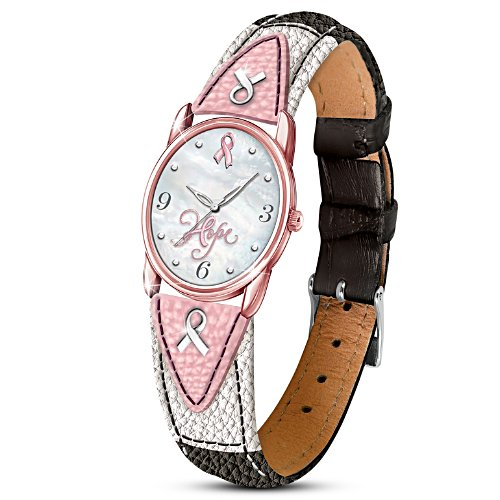 """Everlasting Hope"" Breast Cancer Awareness Women's Watch"