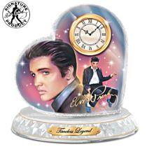 "Nate Giorgio ""Timeless Legend"" Elvis Presley Clock"
