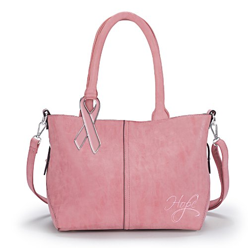 Hope Is Beautiful Breast Cancer Awareness Two-In-One Handbag