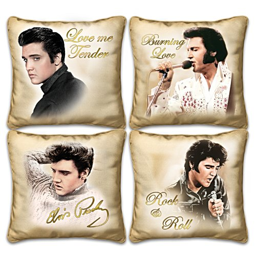 Elvis Presley Four Pillow Set