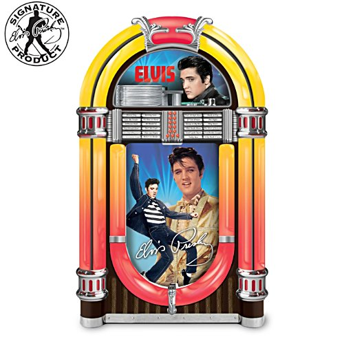 "Elvis Presley ""Hound Dog"" Illuminated Jukebox Music Box"