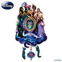 Disney Classic Villains Wall Clock With Lights And Music