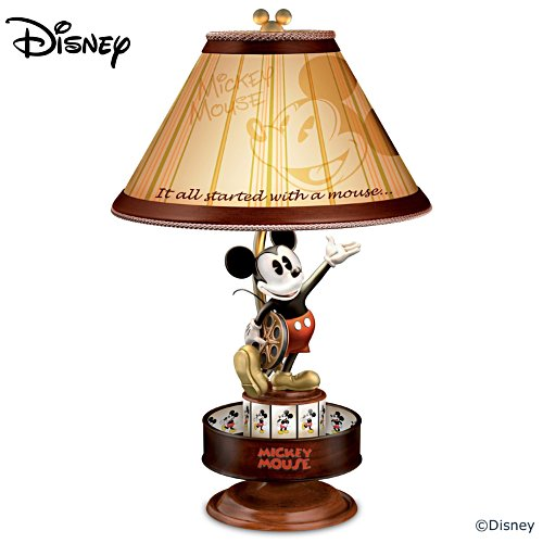 "Disney ""Mickey Mouse Animation Magic"" Spinning Lamp"