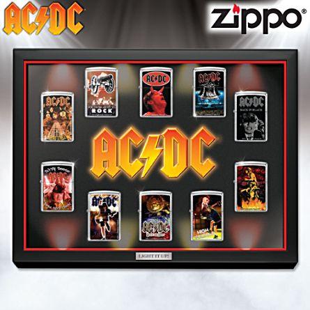 AC/DC Zippo-Feuerzeug-Kollektion