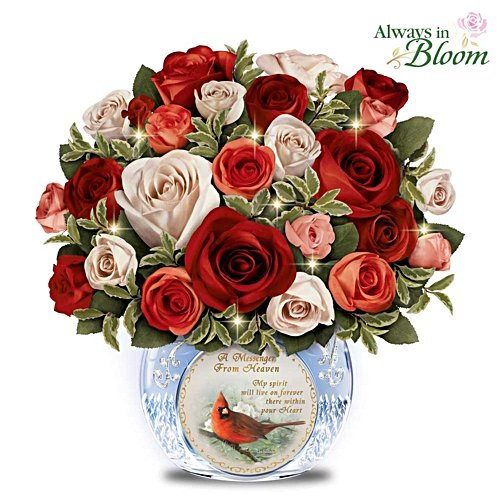"""Messenger From Heaven"" Remembrance Table Centrepiece"