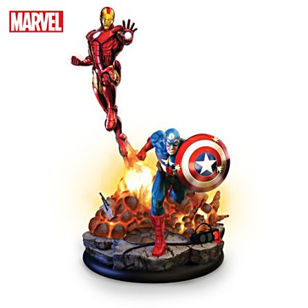 MARVEL Avengers Assemble Illuminated Sculpture