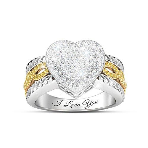 Meine ganze Liebe – Diamantring
