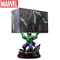 """HULK Smash"" Sculpture Table Lamp"