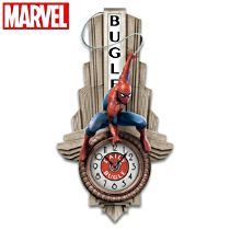 MARVEL SPIDER-MAN Daily Bugle Illuminated Wall Clock