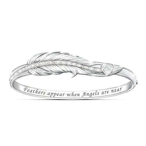 Feathers Appear Angel Bracelet