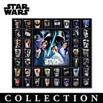 STAR WARS Trilogy Collection With Display