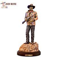 Standing Tall: John Wayne Cold-Cast Bronze Sculpture