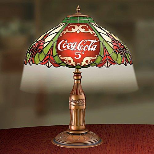 Klassische Eleganz – Coca-Cola-Tischleuchte