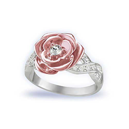 'England's Rose' Royal Princess Diana Ladies' Ring