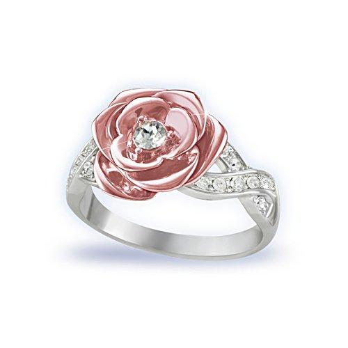 'England's Rose' Royal Princess Diana Ladies' Ring