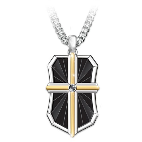 'Bless My Son' Faith Men's Pendant