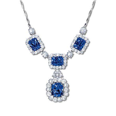 'Royal Decadence' Diamonesk® Pendant