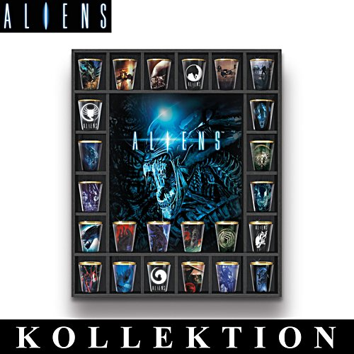 Aliens™ Shot-Gläser – Kollektion