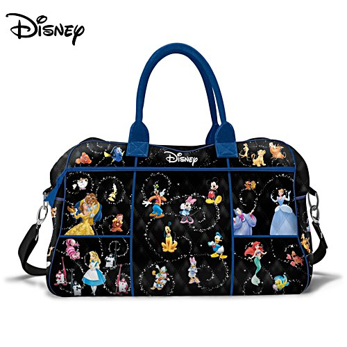 Disney Relive The Magic Women's Quilted Weekender Tote Bag