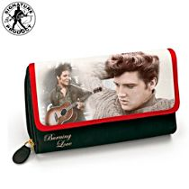 "Elvis Presley ""Burning Love"" Women's Tri-Fold Wallet"