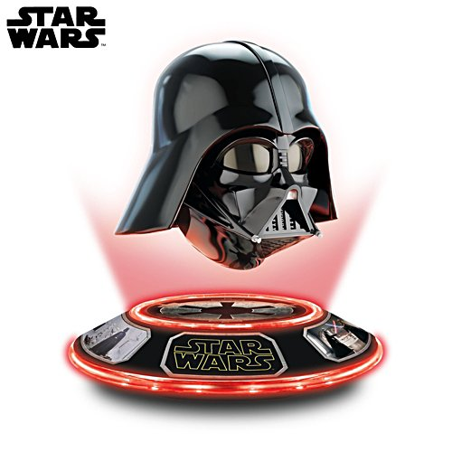 STAR WARS Illuminated Darth Vader Levitating Helmet