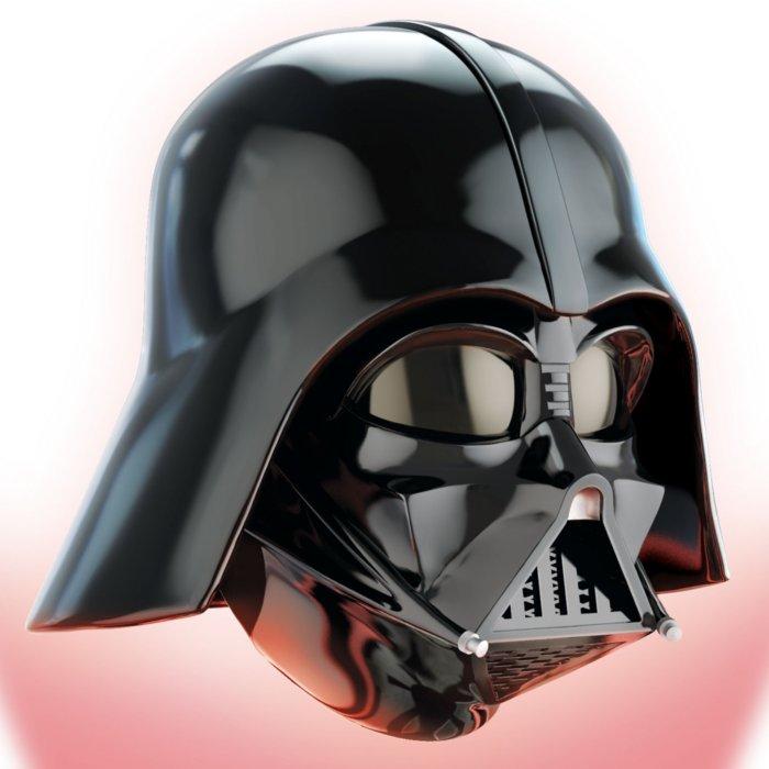 Star Wars Illuminated Darth Vader Levitating Helmet