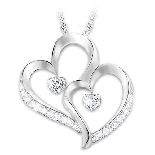"""Forever Loved"" Daughter Diamond Pendant Necklace"
