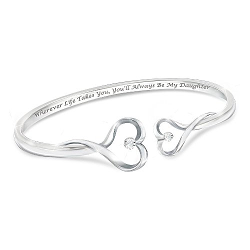 'Always My Daughter' Diamond Bracelet