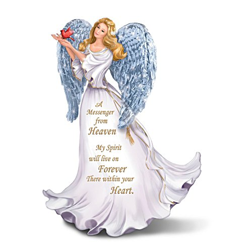 Forever With You' Illuminated Angel Figurine