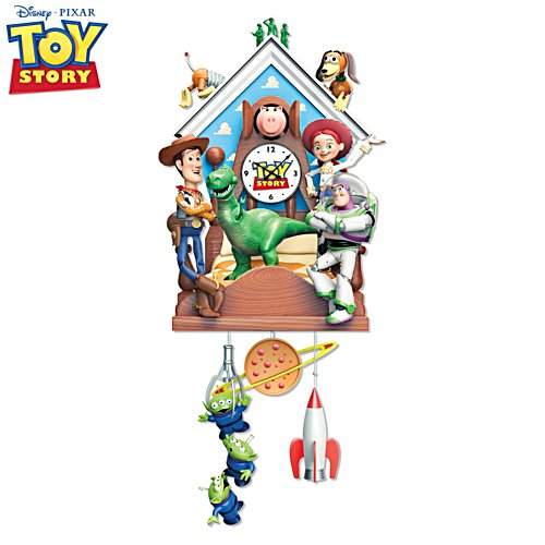 Disney·Pixar Toy Story Musical Wall Clock