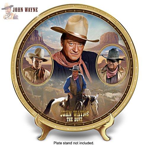 John Wayne: The Duke Collector Plate