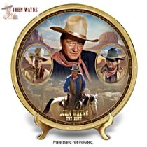 """John Wayne: The Duke"" Heirloom Porcelain Collector Plate"