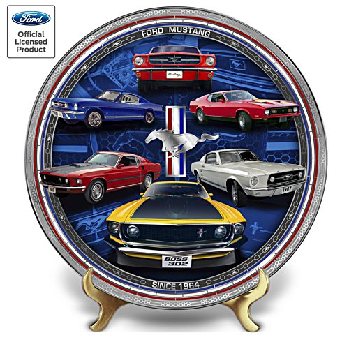 Fascinantes Ford Mustang - Assiette de collection